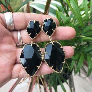 Kendra Scott Selma Earrings in Black